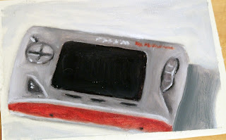 mp3 player gmini painting