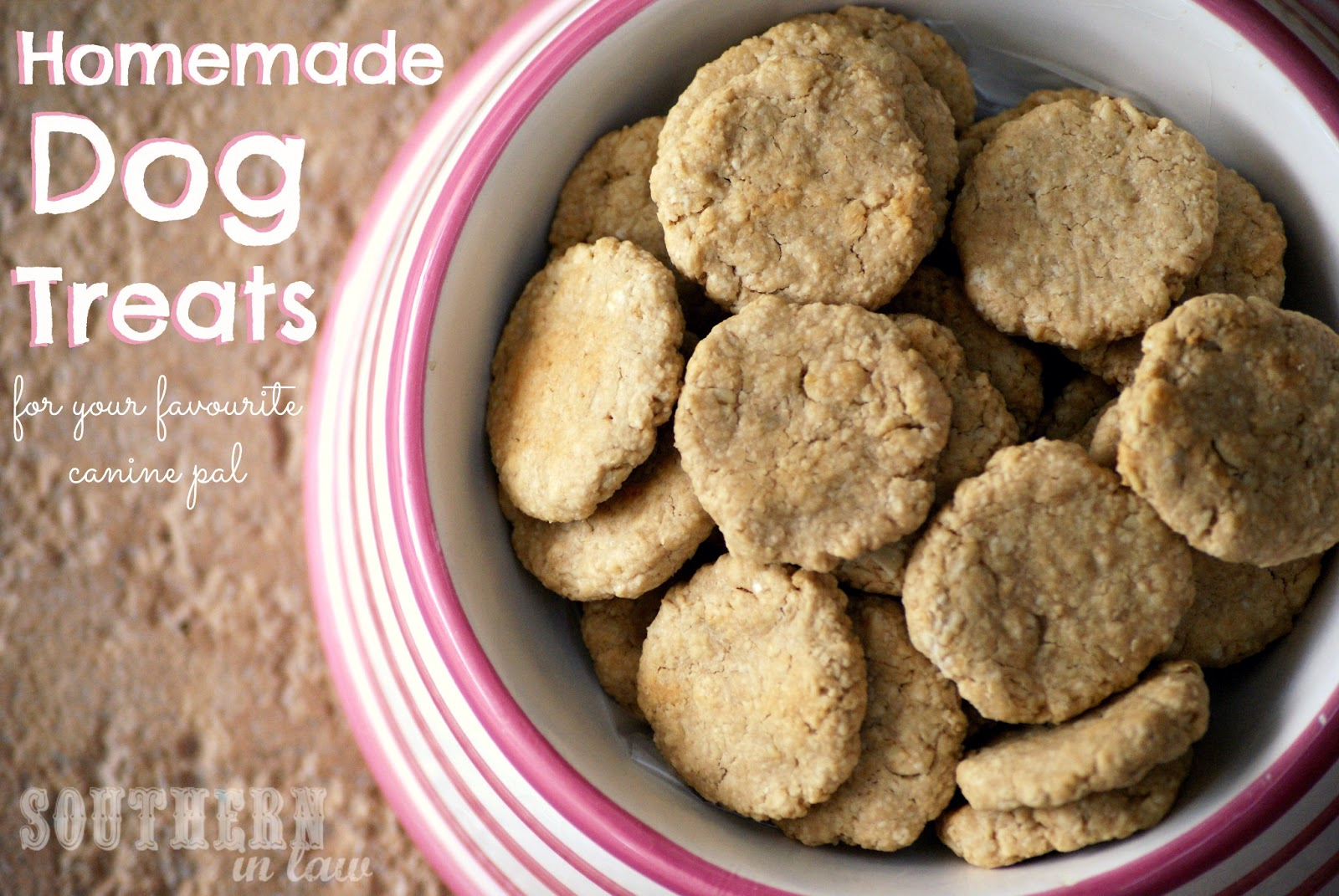 Southern In Law Homemade Dog Treats Recipe