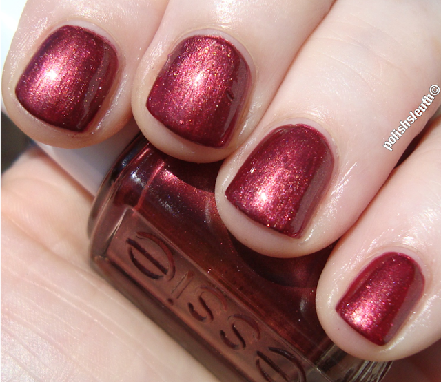 Essie's Wrapped in Rubies