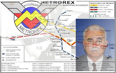 Gheorghe Udriște e tot la Metrorex