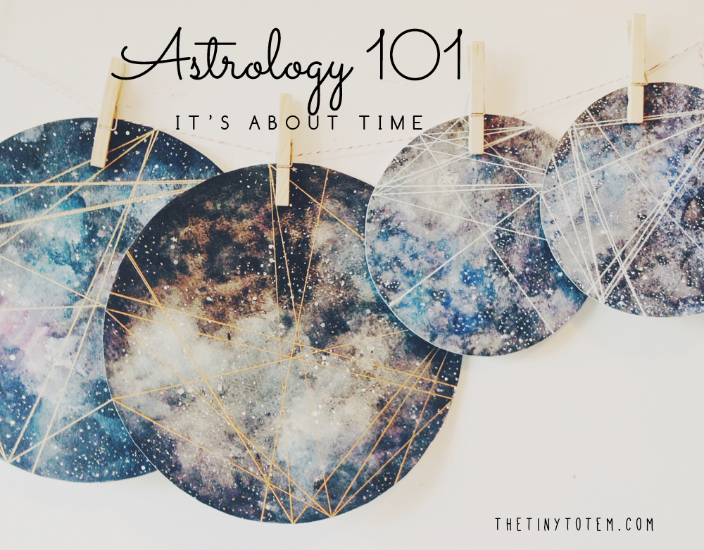 Astrology 101 by The Tiny Totem