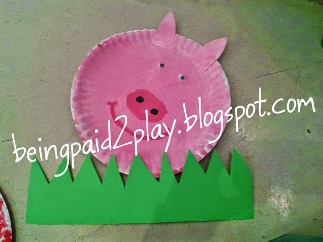 Materials Paper plate ... & Being Paid 2 Play: Paper Plate Farm Animals