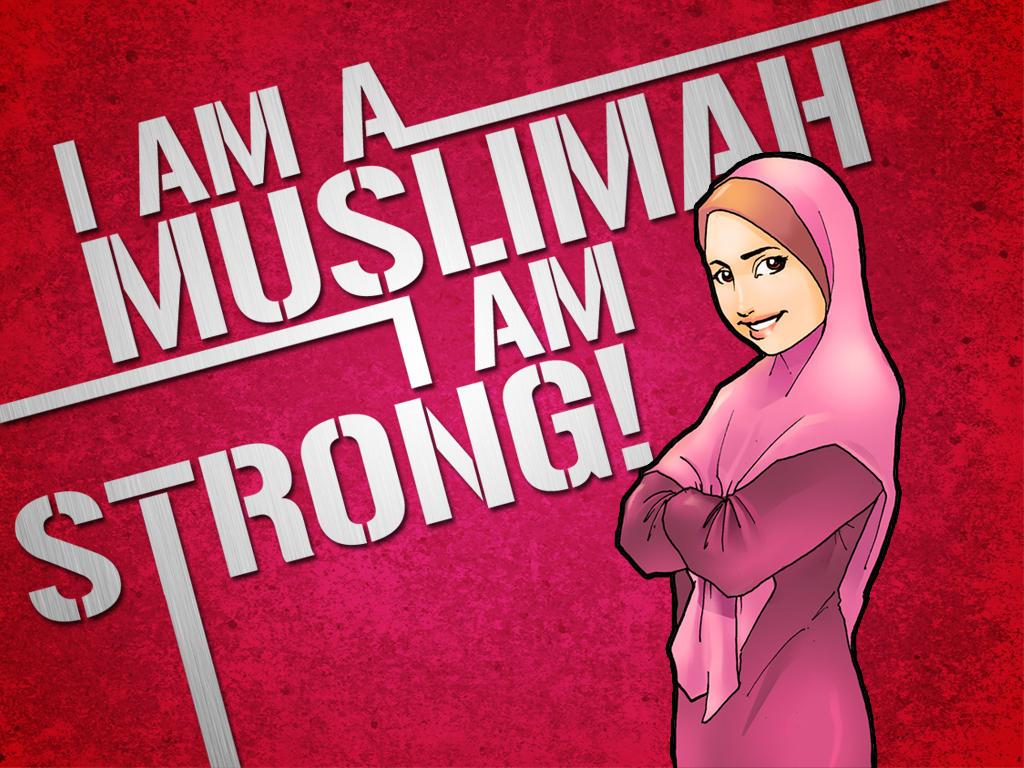 Ummu Fadhl - Muslimah Pemberani - I Am A Muslimah And I Am Strong