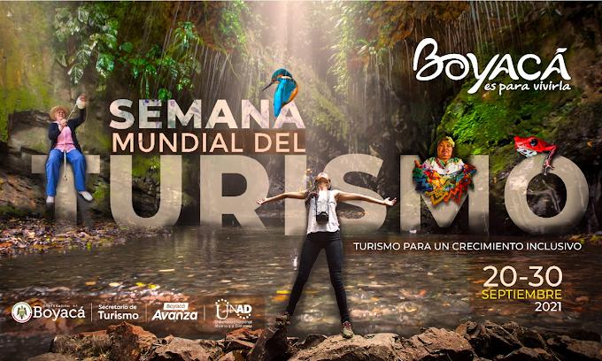 Listos los eventos conmemorativos de la Semana Mundial del Turismo 2021