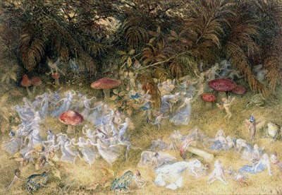 Richard Doyle, Fairy Rings and Toadstools @ WikiCommons