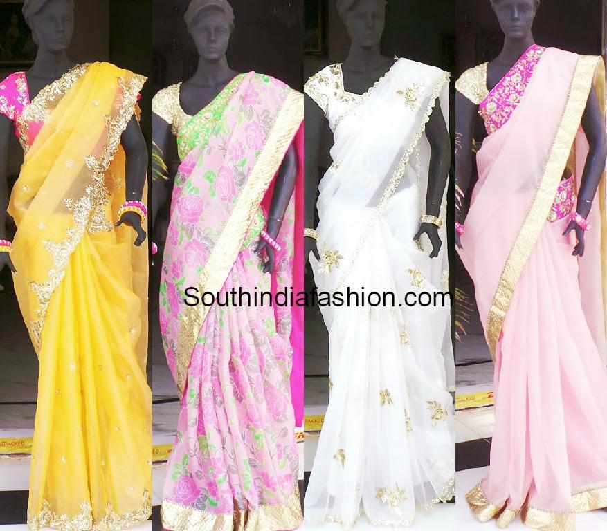shree and deepthi designer sarees