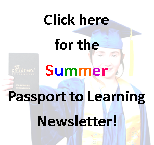 Passport Summer Activity Newsletter