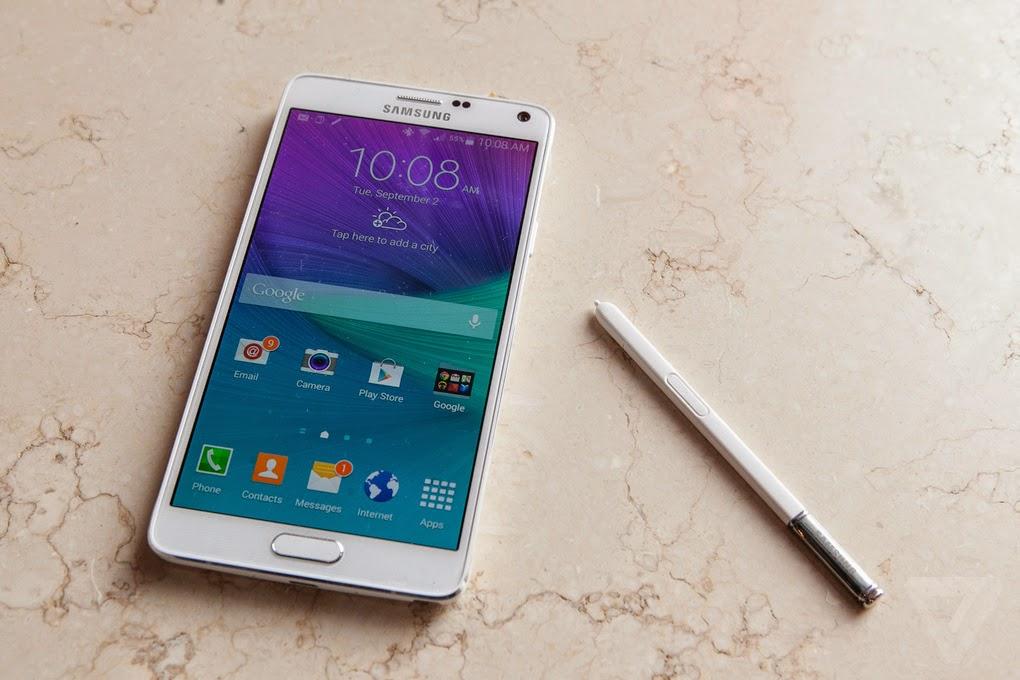 Samsung Galaxy Note 4, Smartphone Tangguh dengan Desain Elegan