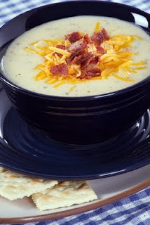 Potato & Bacon Leek Soup Recipe