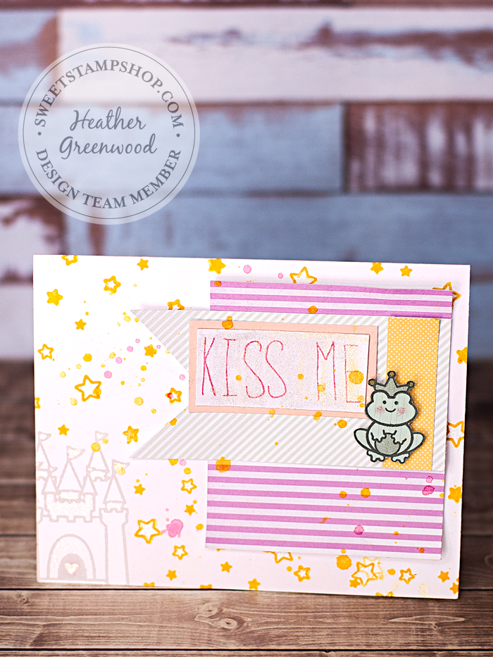 Heather Greenwood | Sweet Stamp Shop - July Releases | Royal Wish