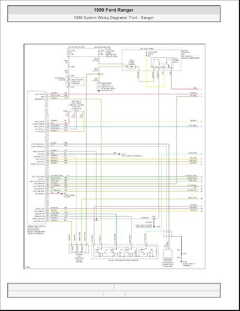 1999 ford ranger system wiring diagrams schematic wiring Auto Power Antenna Wiring