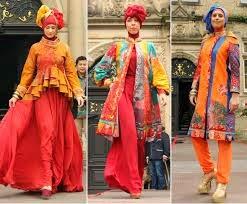 koleksi baju pesta muslim dian pelangi