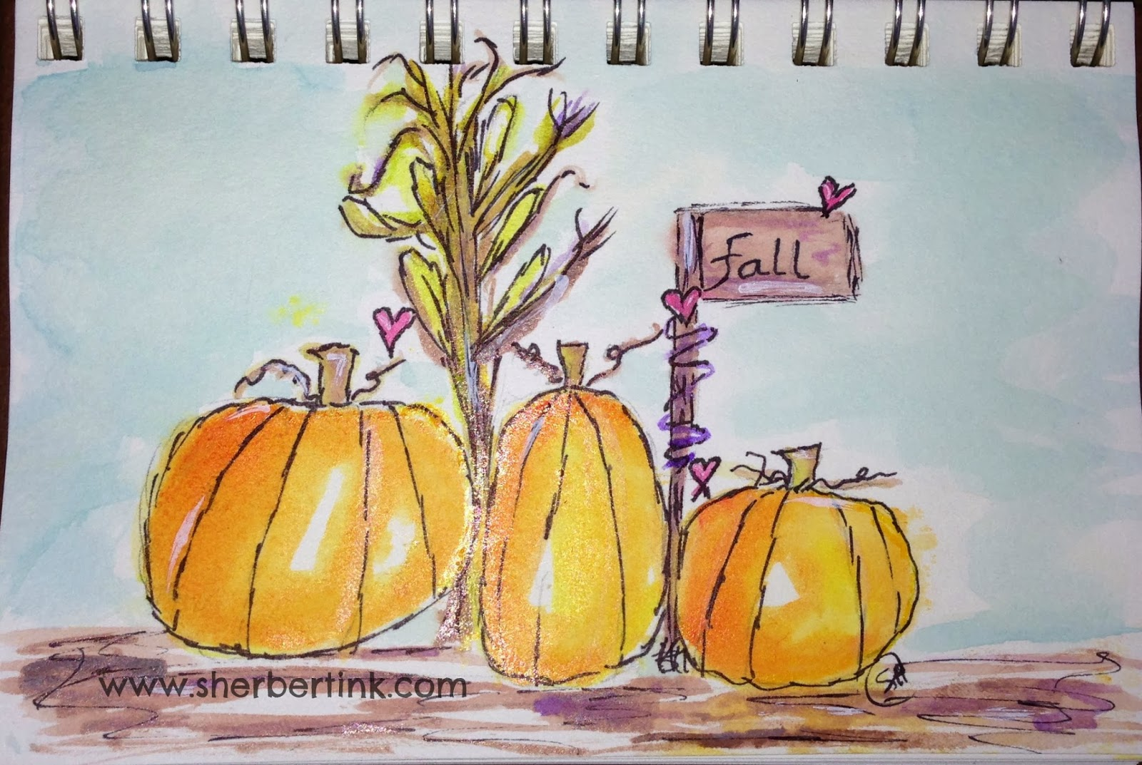 Sherbert Ink: Hey Pumpkin!~