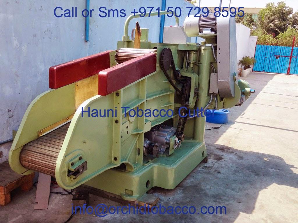 tobacco cutting machine
