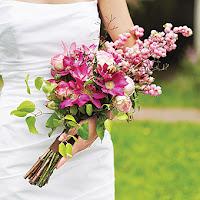 Crescent Wedding Bouquet