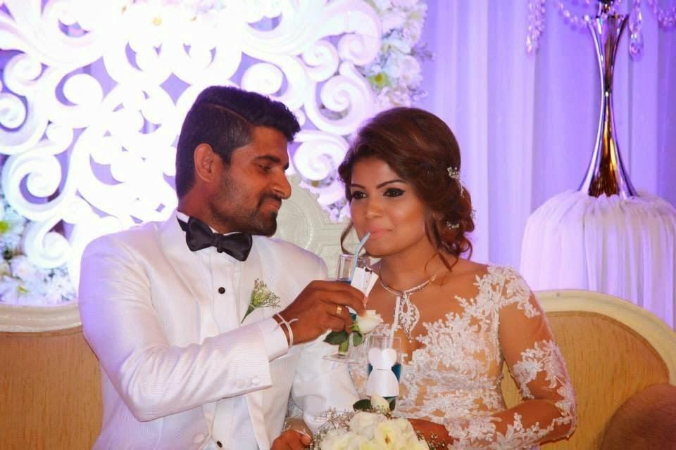 Bhagya Hettiarachchi Wedding Day