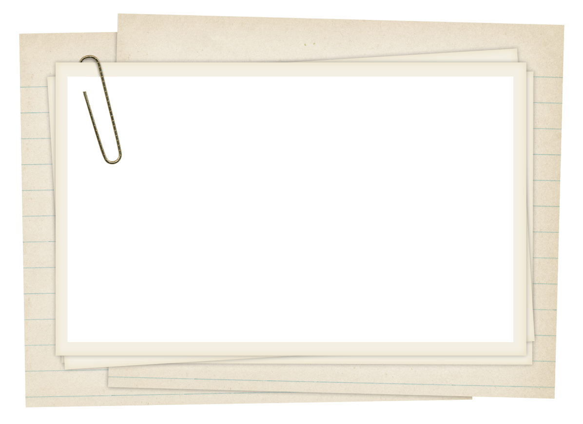 ForgetMeNot: paper frames