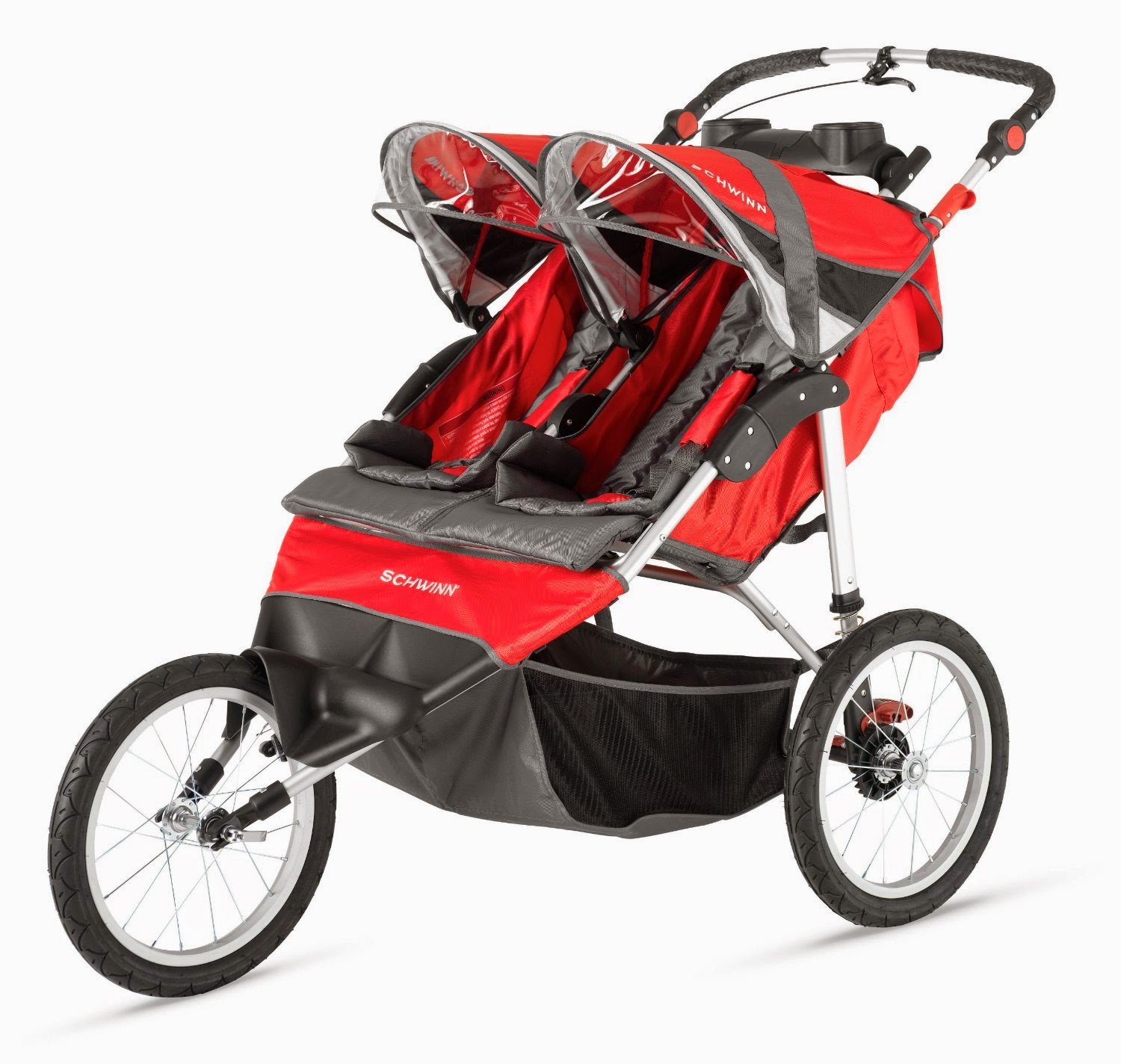 Getting exercise on a daily is important in order for most parents to keep their health, but may be unable to leave the house with children present. Fortunately, Schwinn Arrow Double Jogging stroller solve this problem just put the kids in Schwinn Arrow stroller and off you go. It had a lot of features built in for convenience.