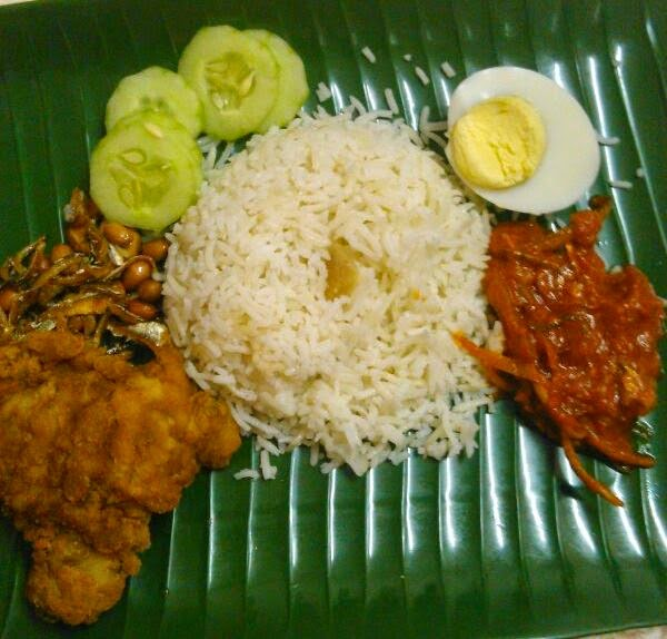 delicious nasi lemak