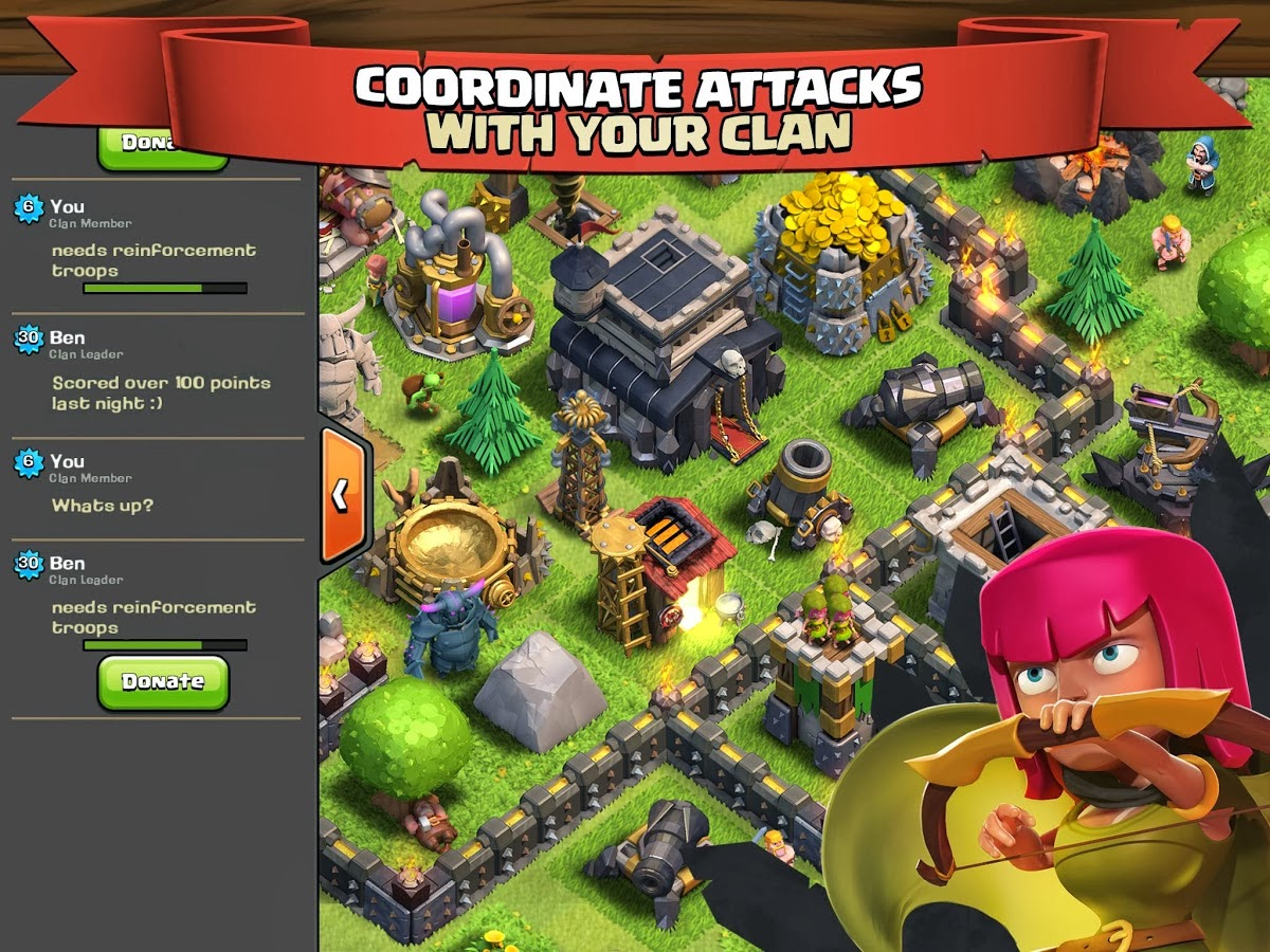 how to download clash of clans in computer