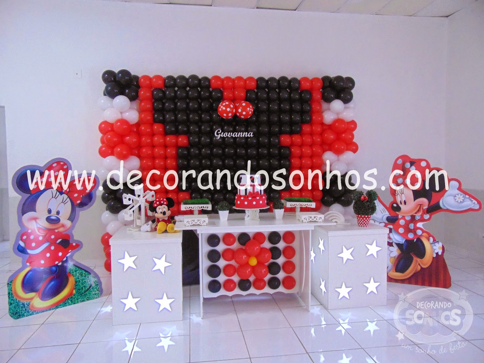 decoracao+clean+minnie+decoracao+clean+minnie+vermelha+decoracao+clean