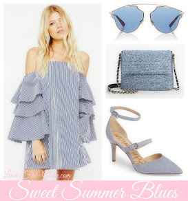 Summer Is Officially Here! See How To Wear The Sweet Summer Blues Style Trend.