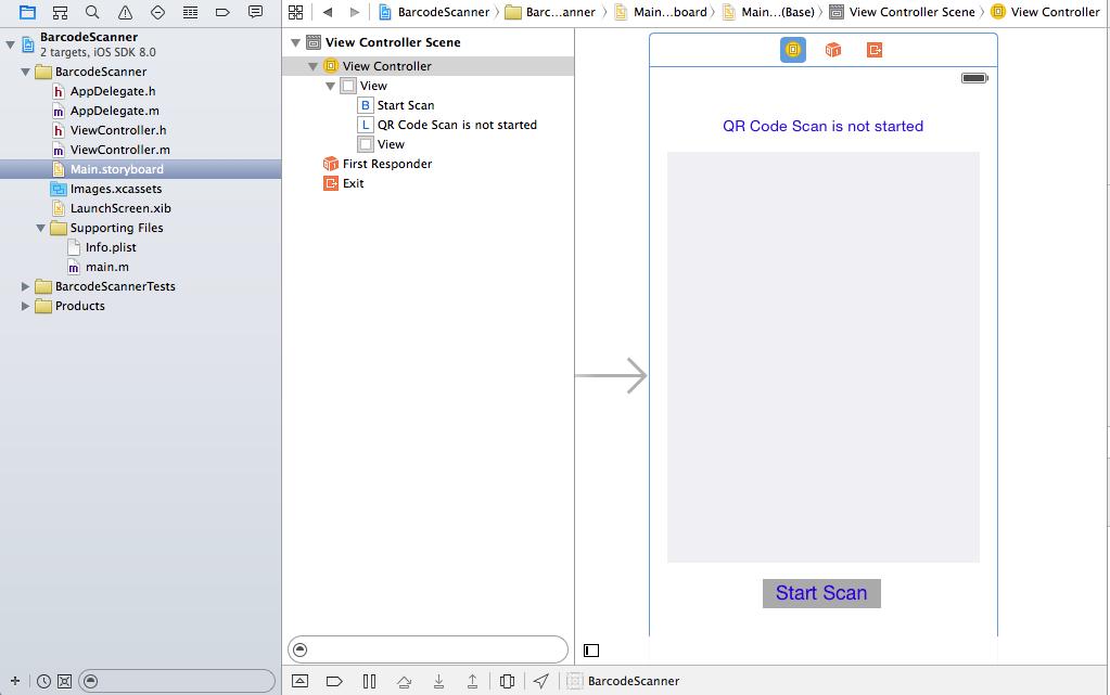 QR Code scan and read using native iOS framework