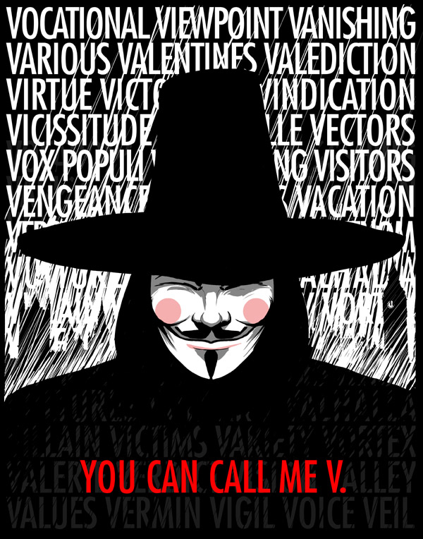 matrix and v for vendetta Información del artículo popularizing utopia in postmodern science fiction film:  matrix, v for vendetta, in time and verbo.
