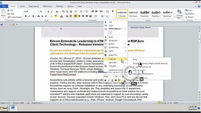 AccessToGo RDP/Remote Desktop_Android app