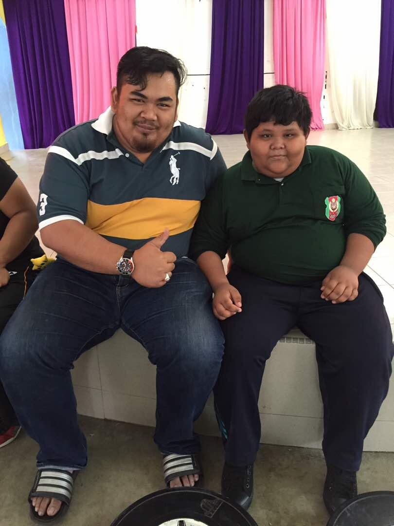 Sama gemuk