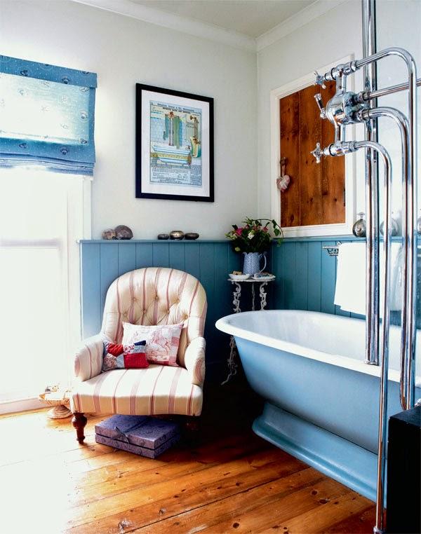 Iluminacion Baño Vintage:21 Los baños vintage también tienen espacios mágicos Si te sobra
