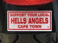 Support your local Hells Angels