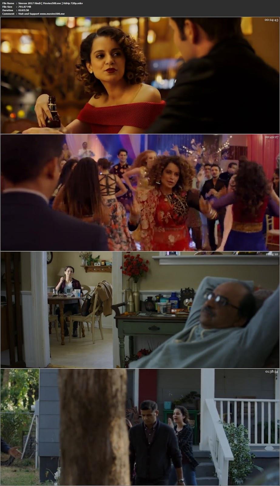 Simran 2017 Bollywood Full Movie 300MB HDRip 480p at tokenguy.com