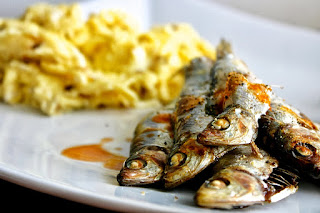 Sprats & Scrambled Eggs