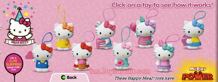 Hello Kitty Happy Meal Toys : Max steel hello kitty happy meal toys
