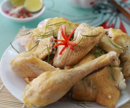Cách luộc gà bằng nồi cơm điện ko bị rách da 2