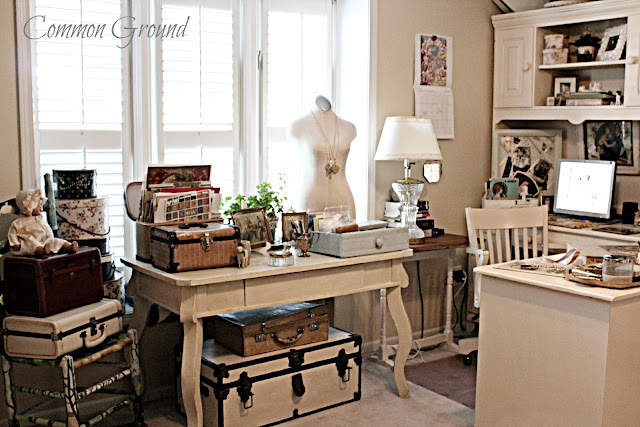 Vintage inspired French Country home tour