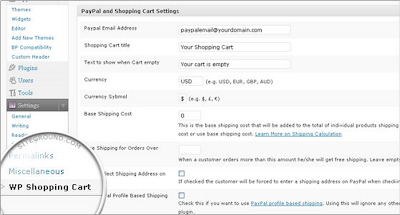 How to setup Simple PayPal Shopping Cart with WordPress