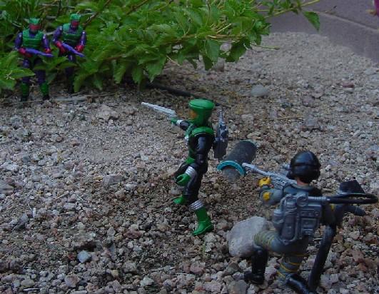 1992 Toxo Viper, Eco Warriors, 1991 Sci Fi, 1993 star Brigade Payload
