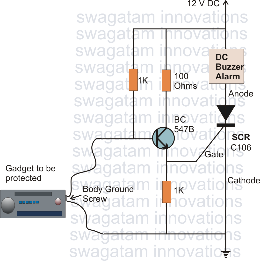 how to make simple scr application circuits circuit diagram centre