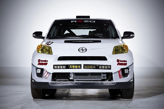 2013 Scion xD rally car