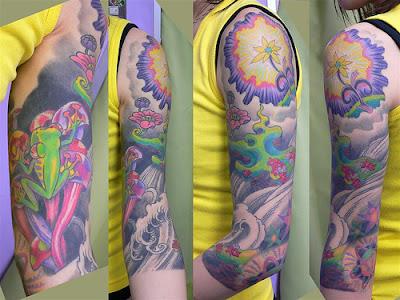 Dicas de tattoos coloridas e vibrantes