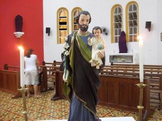Santa Missa de abertura do novenário em honra a São José