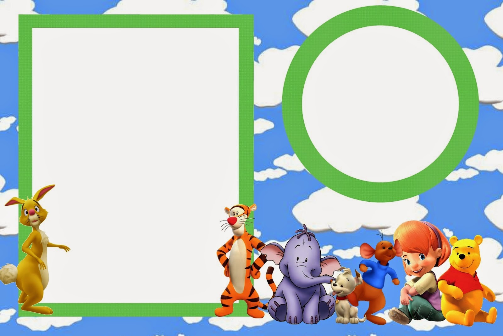 Winnie the Pooh Free Printable Invitations Oh My Baby!
