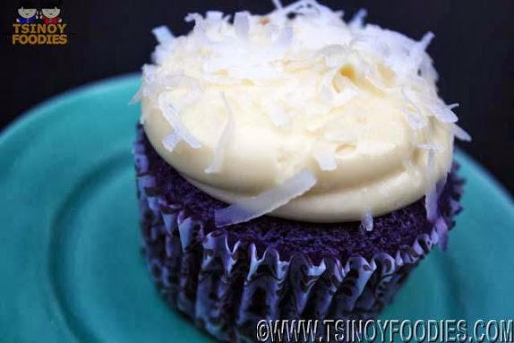 oh my ube cupcake