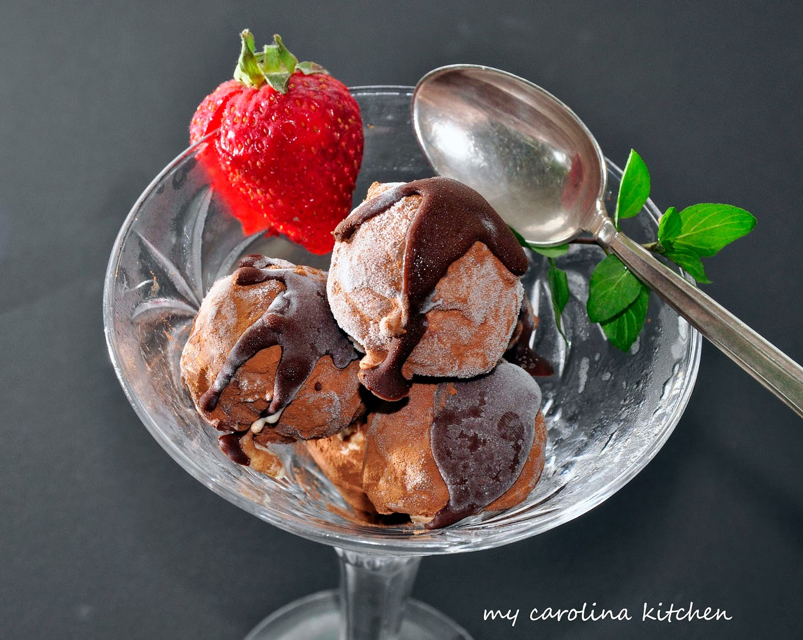 My Carolina Kitchen: Frozen Chocolate Truffles