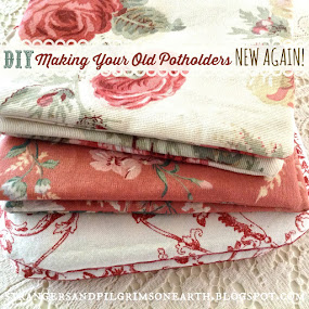 Make Old and Ugly Potholders New Again