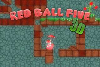 Screenshots of the Red ball five 3D for Android tablet, phone.