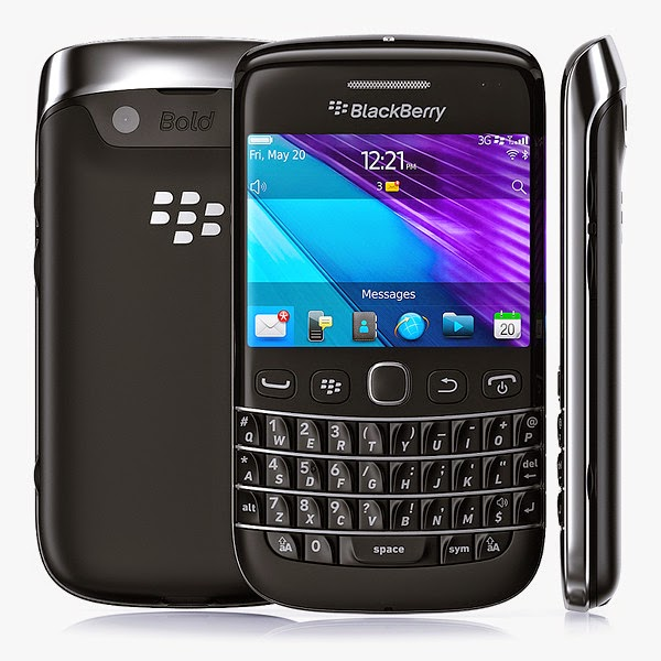 Desain Ponsel Blackberry 9790 Bellagio Black