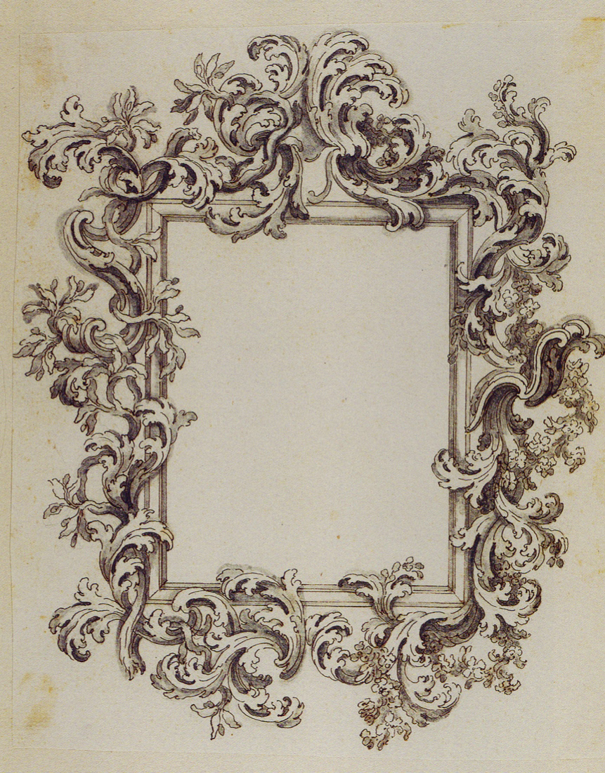 Vintage mirror drawing for Mirror drawing